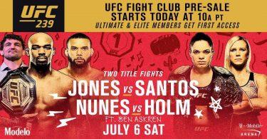 UFC 239: JONES VS. SANTOS 37
