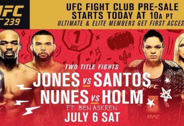 UFC 239: JONES VS. SANTOS 18