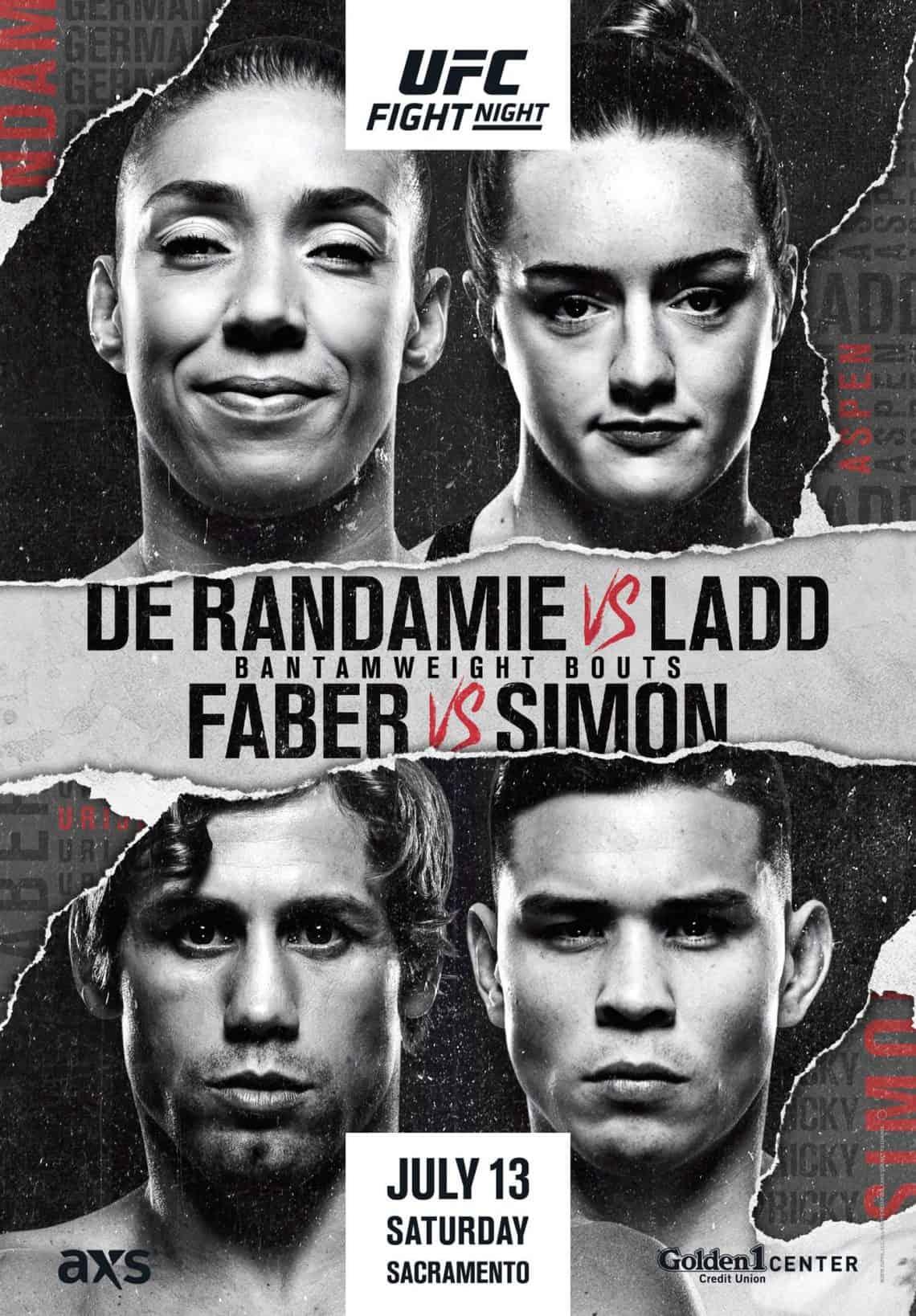 UFC Fight Night numero 155. UFC SACRAMENTO con Marvin Vettori 1