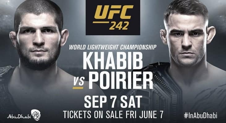 UFC 242: Khabib vs. Poirier 1