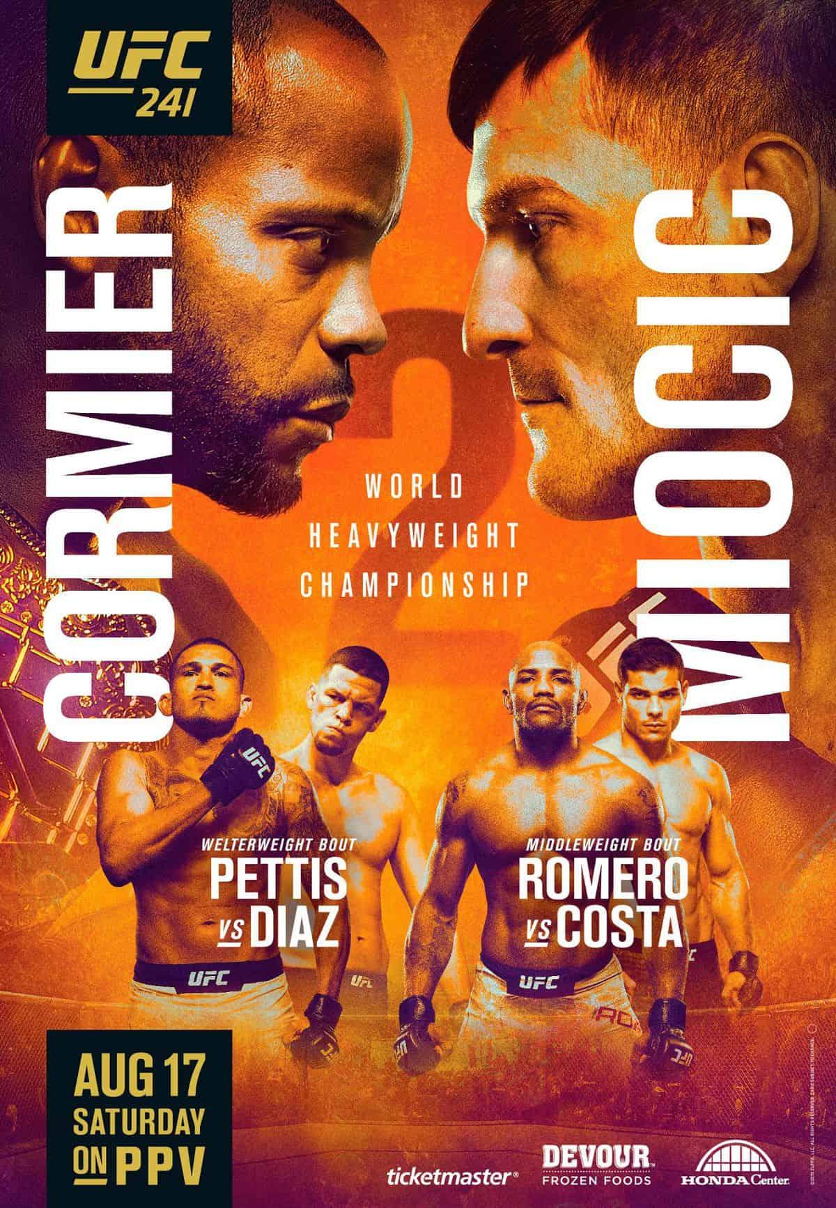 Risultati UFC 241: Cormier vs. Miocic 2 5