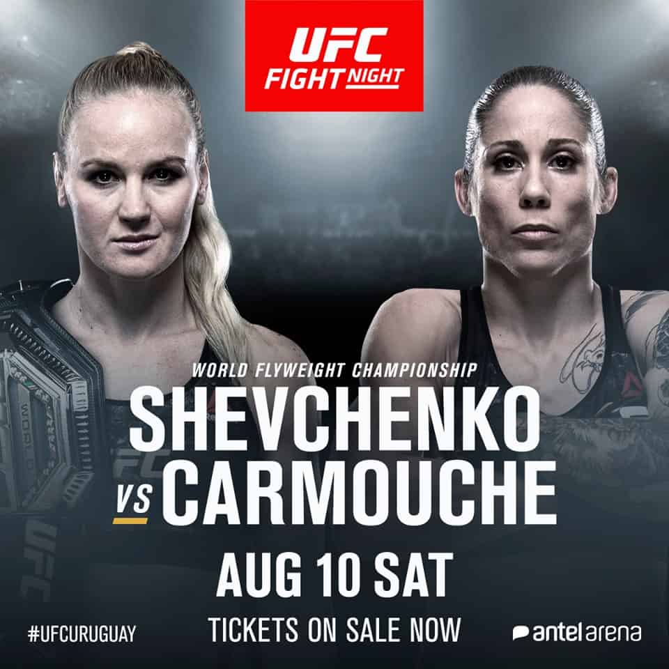 UFC Uruguay 2019 : Shevchenko vs. Carmouche 1