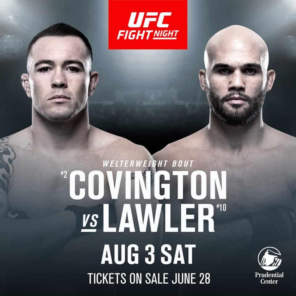 Risultati UFC on ESPN: Covington vs. Lawler (con Mara Borella) 2