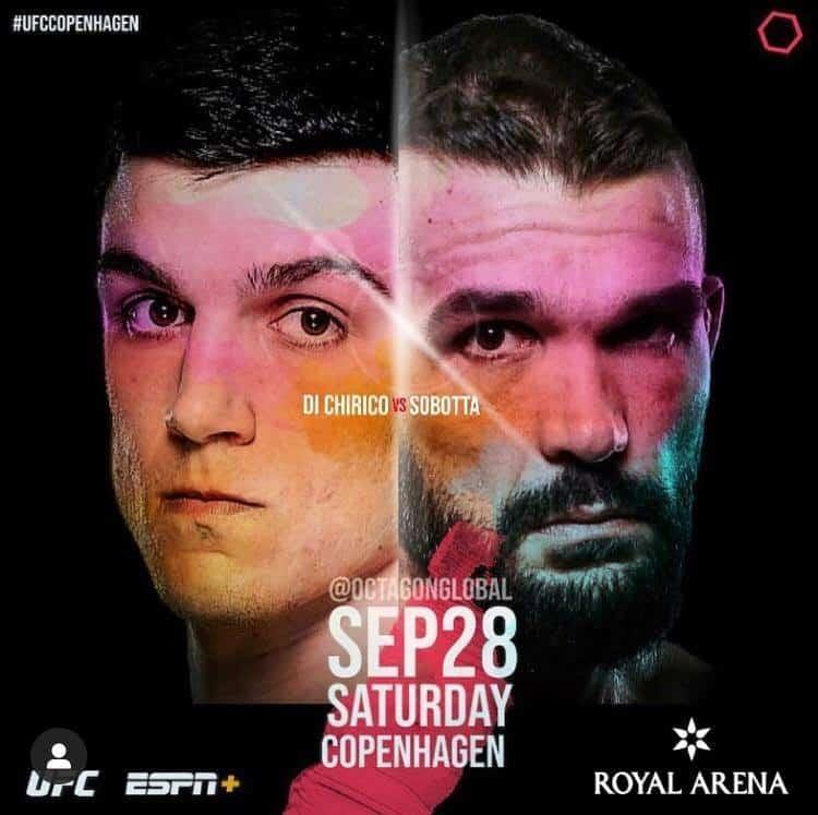 UFC Copenhagen 2019 avrà TRE fighter col tricolore! 1