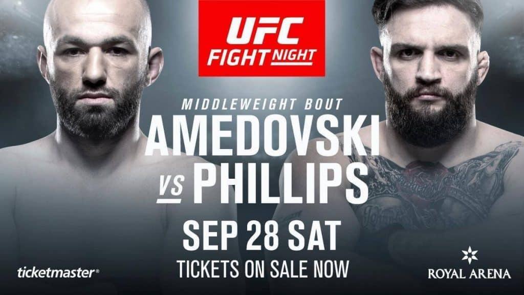 UFC Copenhagen 2019 avrà TRE fighter col tricolore! 2