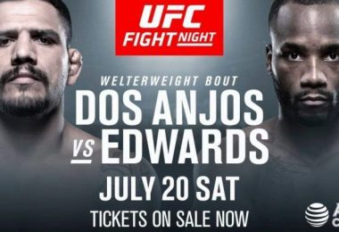 UFC ON ESPN 4: DOS ANJOS VS. EDWARDS 8