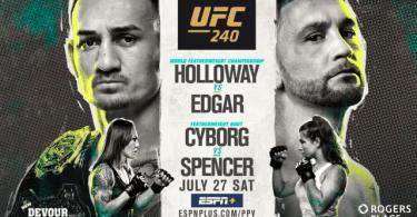 UFC 240: HOLLOWAY VS. EDGAR 13