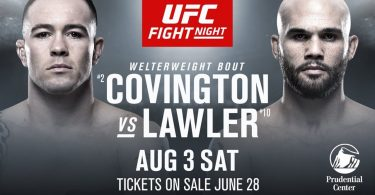 UFC ON ESPN 5: COVINGTON VS. LAWLER + MARA BORELLA 20