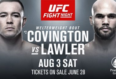 UFC ON ESPN 5: COVINGTON VS. LAWLER + MARA BORELLA 12
