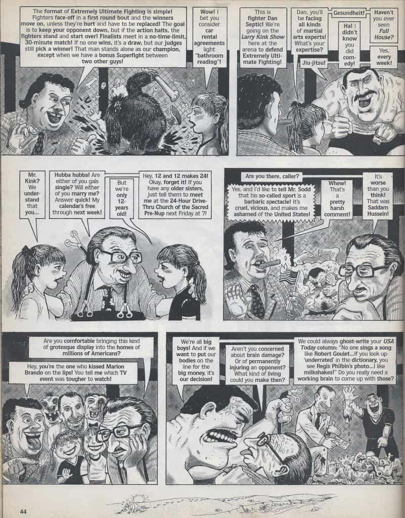 l'UFC anni 90 visto da MAD Magazine 5