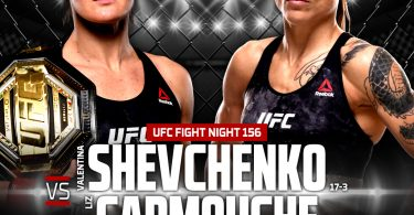 Risultato UFC Fight Night: Shevchenko vs. Carmouche 2 (Uruguay 2019) 2
