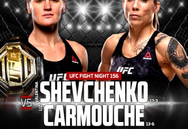 Risultato UFC Fight Night: Shevchenko vs. Carmouche 2 (Uruguay 2019) 6