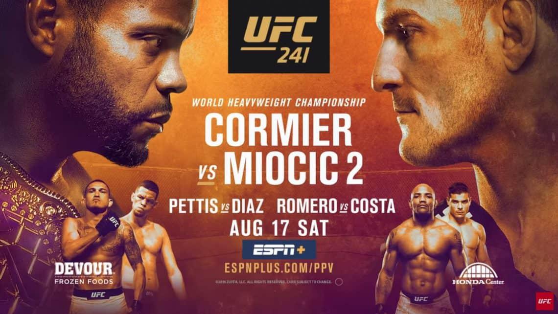 Risultati UFC 241: Cormier vs. Miocic 2 1