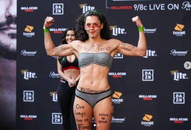 L'importante messaggio di Alejandra Lara, la fighter di MMA Colombiana che protesta contro la deforestazione 3