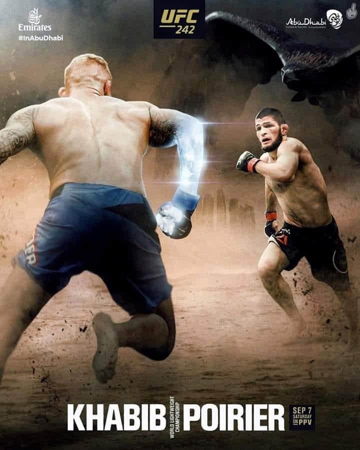 RISULTATI UFC 242 NURMAGOMEDOV VS. POIRIER 2