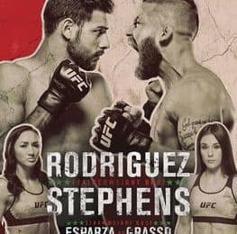Risultati UFC Mexico City 2019: Rodríguez vs. Stephens 8