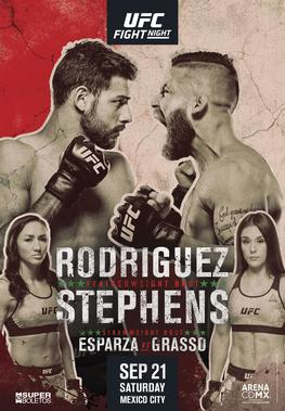 UFC Mexico City 2019: Rodríguez vs. Stephens 1
