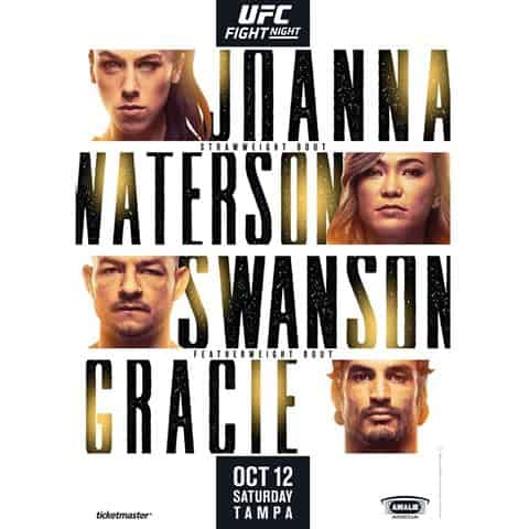 Risultati UFC Fight Night: Jedrzejczyk vs. Waterson 10