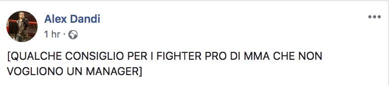 Alex Dandi ci da 24 Consigli per una persona che vuole diventare fighter PRO di MMA 2