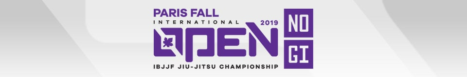 Paris Fall International Open IBJJF Jiu-Jitsu No-Gi Championship 1