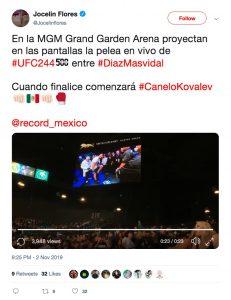 UFC 244: Masvidal vs. Diaz (New York ) 2
