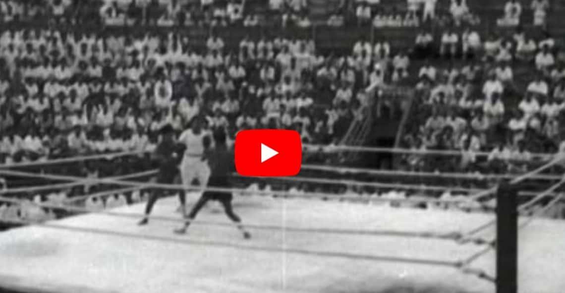 La Muay Thai nel 1950 (Oldskool Video) 1