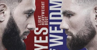 Risultati UFC on ESPN: Reyes vs. Weidman 5