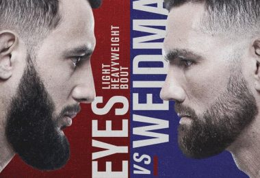 Risultati UFC on ESPN: Reyes vs. Weidman 11