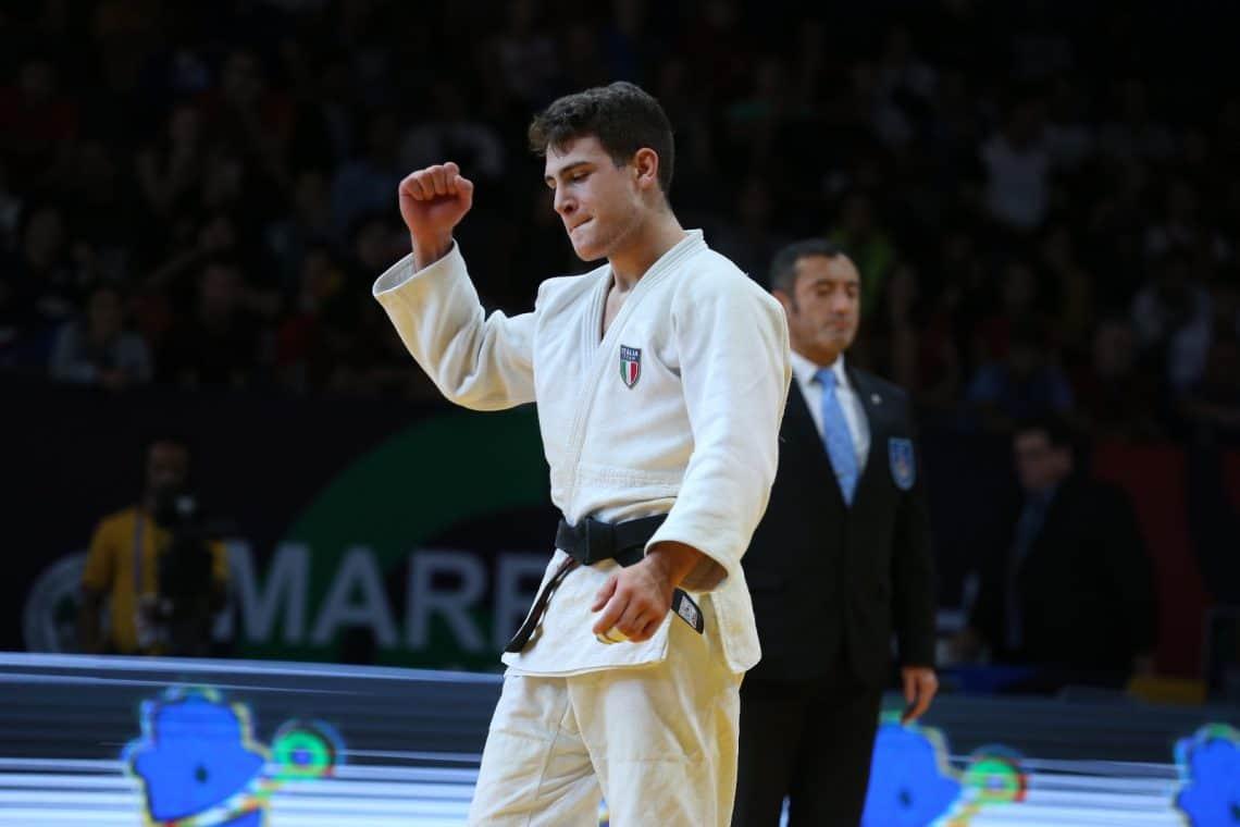 Judo, Mondiali juniores 2019 Seconda giornata : Edoardo Mella vince il bronzo 1