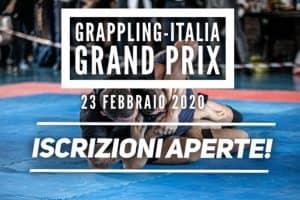 Il Grappling-Italia Grand Prix torna in grande stile il 23 Febbraio! 2