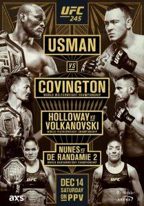 UFC 245: Usman vs. Covington 2