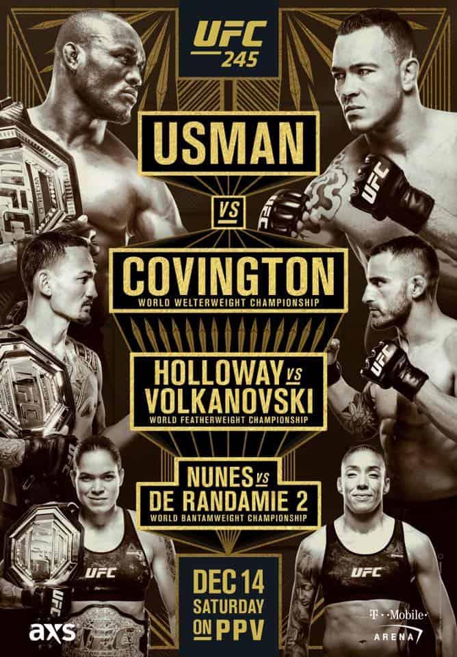 UFC 245: Usman vs. Covington 1