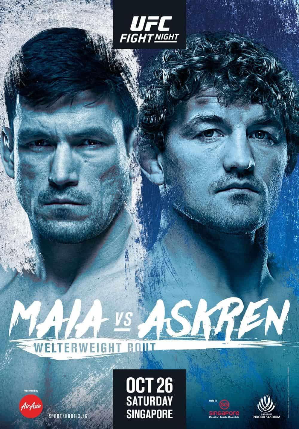 UFC Singapore: Maia vs. Askren 1