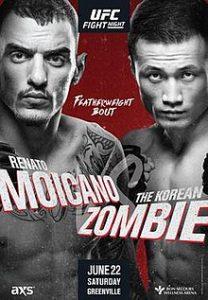 UFC Fight Night: Moicano vs. Korean Zombie 2