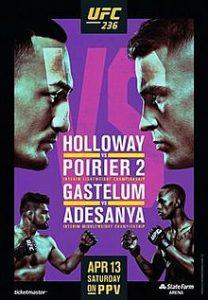 UFC 236: Holloway vs. Poirier 2 2