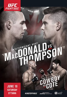 UFC Fight Night: MacDonald vs. Thompson 1
