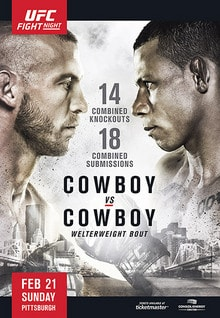 UFC Fight Night: Cowboy vs. Cowboy 1