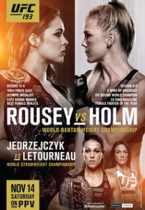 UFC 193: Rousey vs. Holm 2