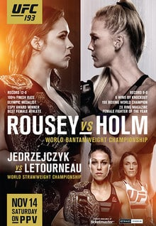 UFC 193: Rousey vs. Holm 1