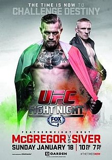 UFC Fight Night: McGregor vs. Siver 1