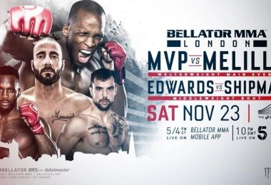Risultati BELLATOR LONDON 2020: MVP VS. MELILLO 2