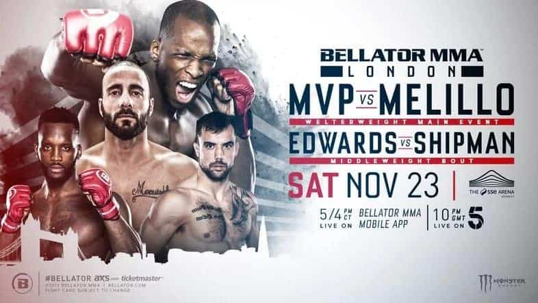 Risultati BELLATOR LONDON 2020: MVP VS. MELILLO 1