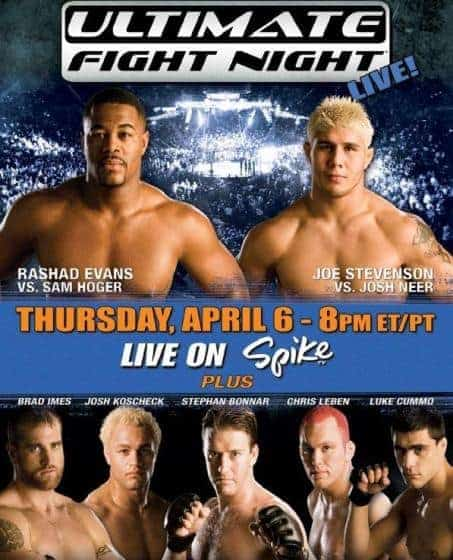 UFC Ultimate Fight Night 4 1