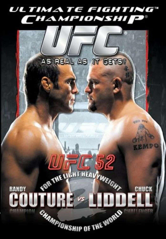 UFC 52: Couture vs. Liddell 1