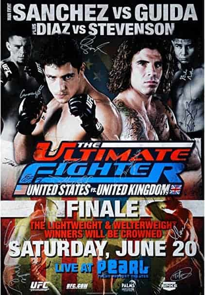 The Ultimate Fighter: United States vs. United Kingdom Finale 1