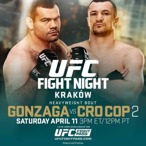 UFC Fight Night: Gonzaga vs. Cro Cop 2 1