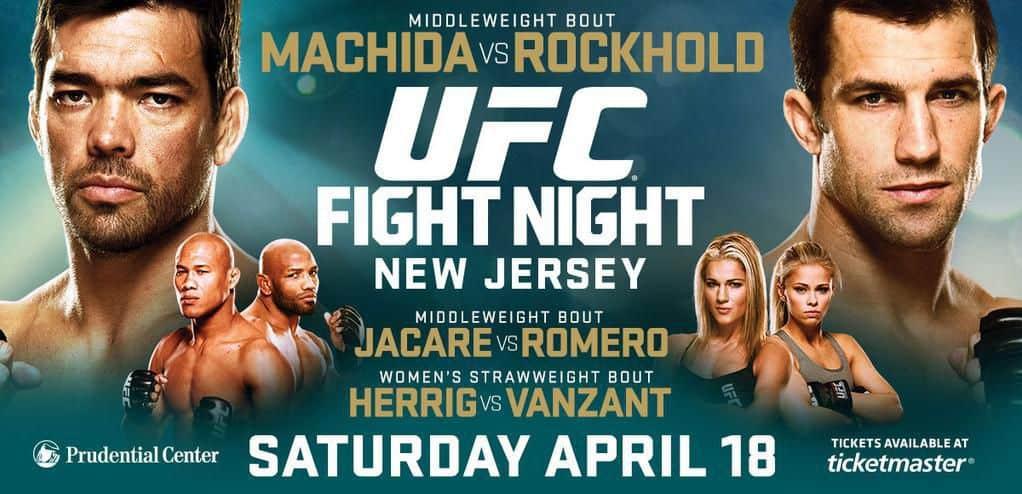 UFC on Fox: Machida vs. Rockhold 1