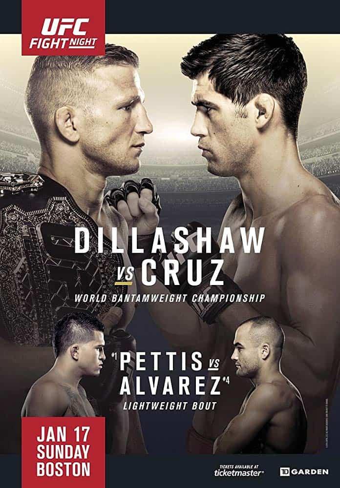 UFC Fight Night: Dillashaw vs. Cruz 1