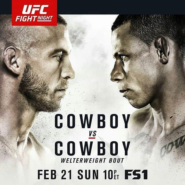UFC Fight Night: Cowboy vs. Cowboy 1
