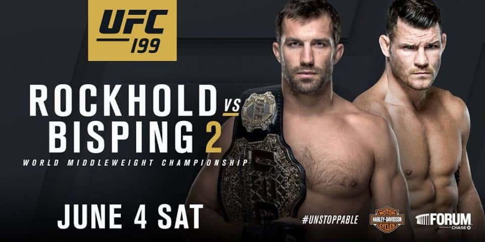 UFC 199: Rockhold vs. Bisping 2 1